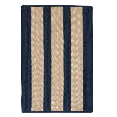 Seal Harbor Navy Indoor/Outdoor Area Rug Rug Size: 8 x 11
