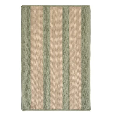 Seal Harbor Olive Indoor/Outdoor Area Rug Rug Size: 2 x 4
