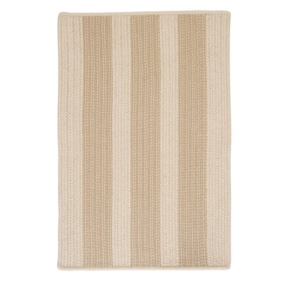 Seal Harbor Natural Indoor/Outdoor Area Rug Rug Size: 5 x 8