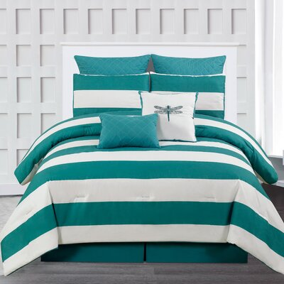 Breakwater Bay Whimbrel 7 Piece King Comforter Set