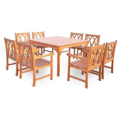 Blythe 9 Piece Dining Set