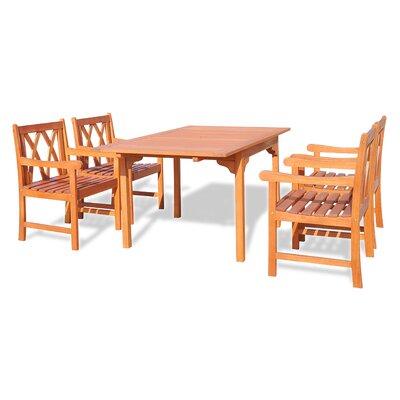 Blythe 5 Piece Dining Set