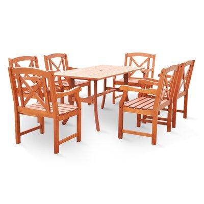 purchase blythe 7 piece dining set