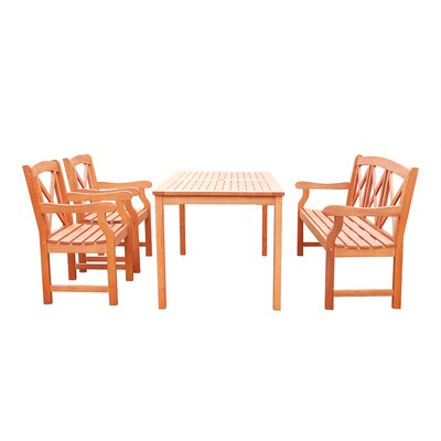 Blythe 4 Piece Dining Set