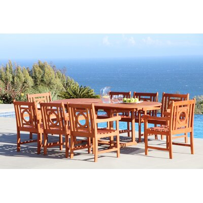 Monterry 9 Piece Dining Set