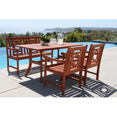 Monterry 4 Piece Dining Set