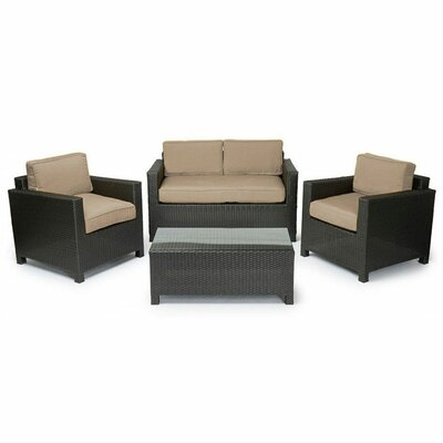 Brenna 4-Piece Deep Seating Group