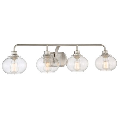 Branchview 4-Light Vanity Light Finish: Brushed Nickel