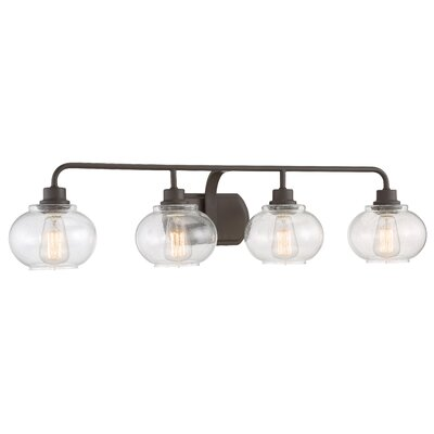 Branchview 4-Light Vanity Light Finish: Old Bronze