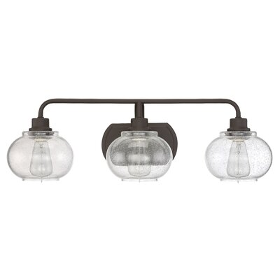 Branchview 3-Light  Vanity Light Finish: Old Bronze