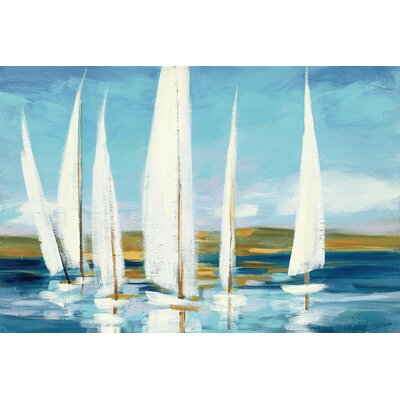 Horizon Painting Print on Wrapped Canvas Size: 12