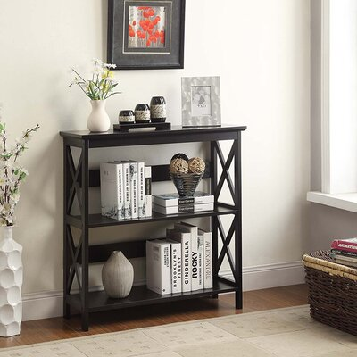 Washington 33 Etagere Bookcase FInish: Black