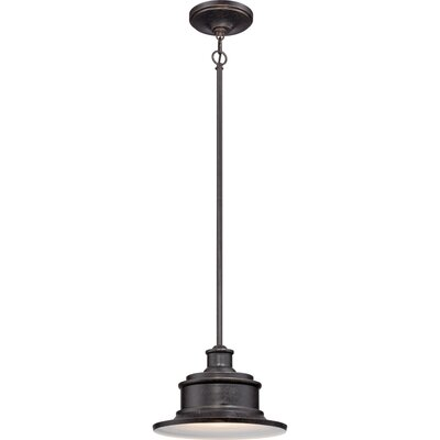 Swanton 1-Light Outdoor Pendant Finish: Imperial Bronze
