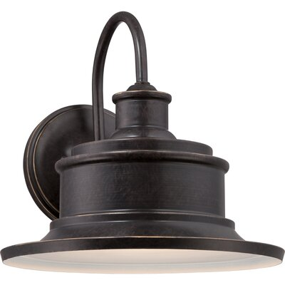 Swanton 1-Light Outdoor Barn Light Finish: Imperial Bronze
