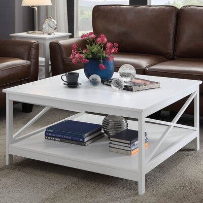 Stoneford Traditional Coffee Table Finish: White
