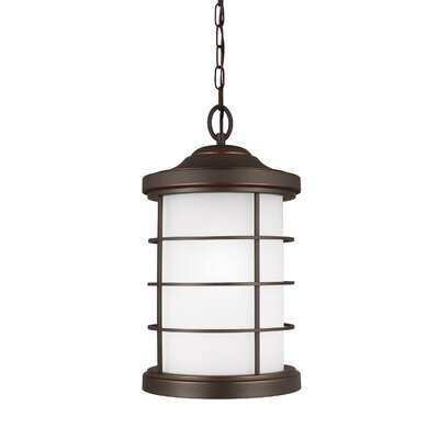 Newcastle 1-Light Mini Pendant Finish: Antique Bronze