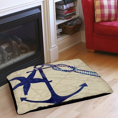 Achilles Pet Bed Size: 50 L x 40 W