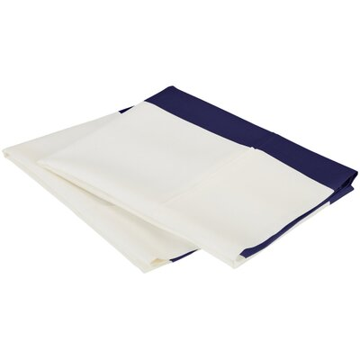 Ariel Pillow Case Color: Navy Blue