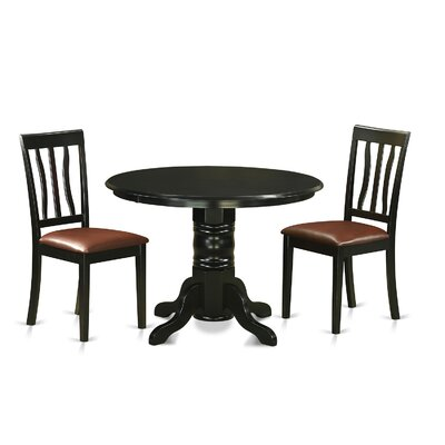 Langwater Traditional 3 Piece Dining Set