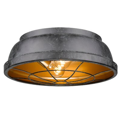 Catamaran 2-Light Flush Mount