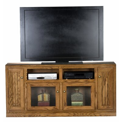 Didier 4 Doors TV Stand Color: Chocolate Mousse