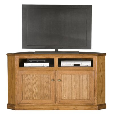 Didier Corner TV Stand Color: Concord Cherry