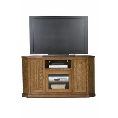 Didier Corner 57 TV Stand Color: Dark Oak