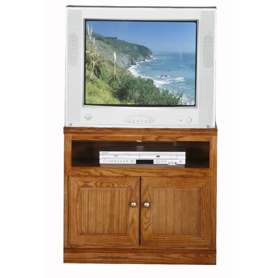 Didier Traditional TV Stand Color: Caribbean Rum