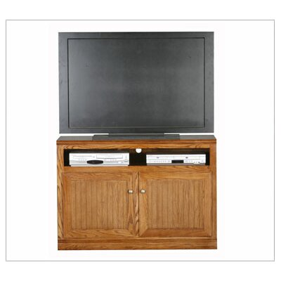 Didier Traditional Wood TV Stand Color: Dark Oak