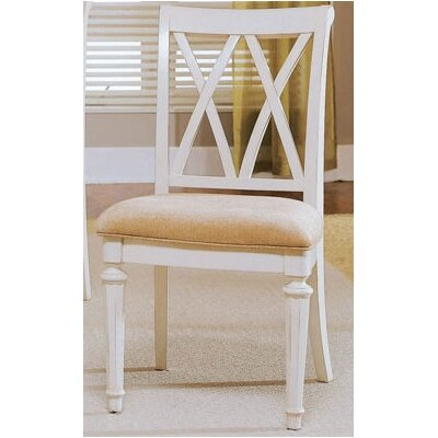 Wheelock Side Chair (Set of 4) Finish: Ivory