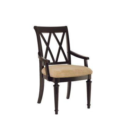 Wheelock Solid Wood Dining Chair (Set of 2) Color: Black