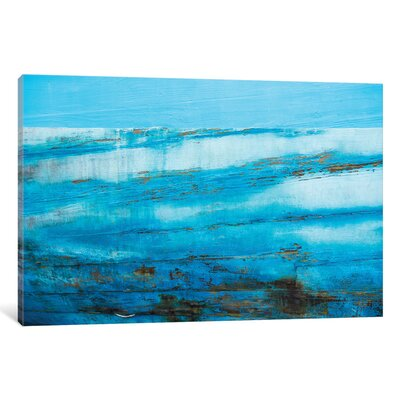 Ship Textures IV Wall Art on Wrapped Canvas Size: 12