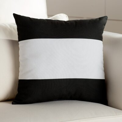 Breakwater Bay Jaffrey Horizontal Stripe Throw Pillow