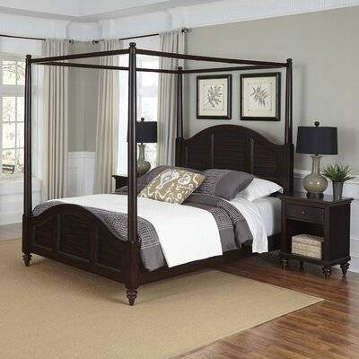 Kenduskeag Canopy 3 Piece Bedroom Set