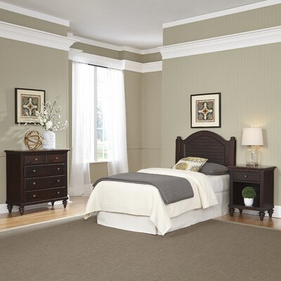 Kenduskeag Panel 3 Piece Bedroom Set Finish: Espresso