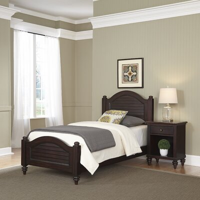 Kenduskeag Panel 2 Piece Bedroom Set Finish: Espresso