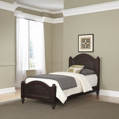 Harrison Twin Panel Bed Finish: Espresso