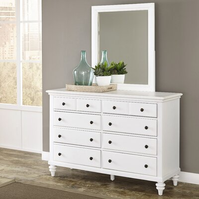 Kenduskeag 8 Drawer Dresser with Mirror