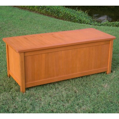 Sabbattus Outdoor Wood Deck Box