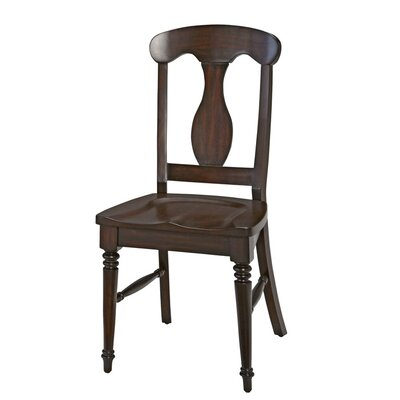 Harrison Solid Wood Dining Chair Finish: Espresso