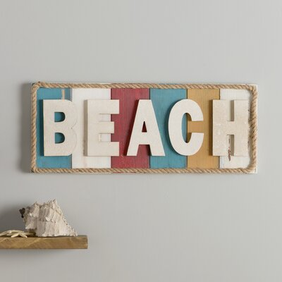 Beach Theme Sign Wall Décor