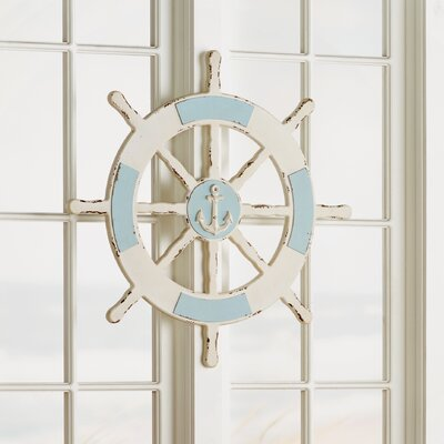 Themed Ship Wheel Wall Décor