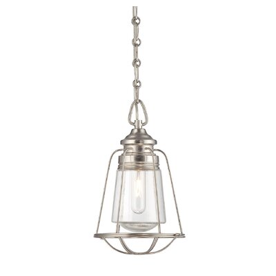 Storrow Mini Pendant Finish: Satin Nickel