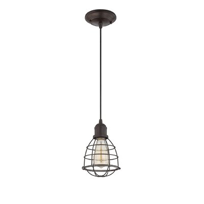 Manston 1-Light Mini Pendant Finish: English Bronze