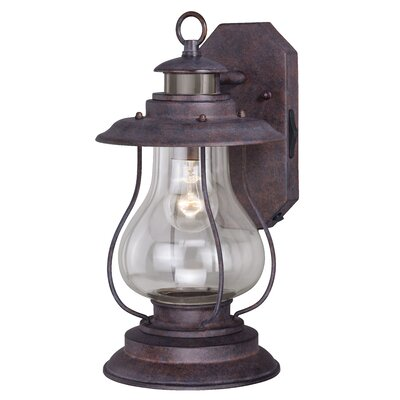 Calvin 1-Light Outdoor Wall Lantern