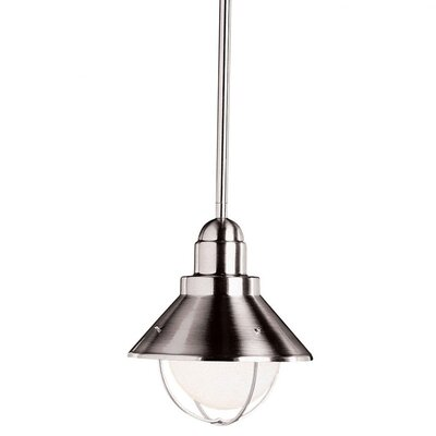 Castro 1-Light Mini Pendant Finish: Brushed Nickel