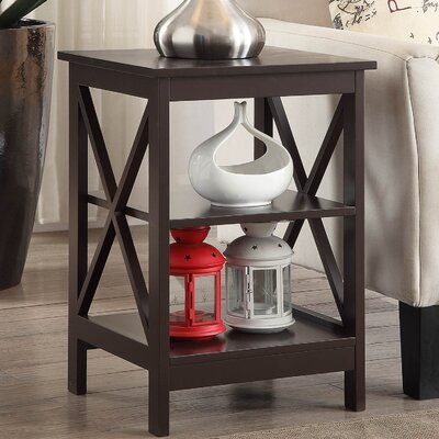 Stoneford End Table Color: Espresso