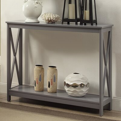 Washington Console Table Finish: Gray