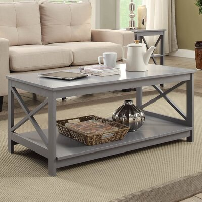 Stoneford Coffee Table Color: Gray