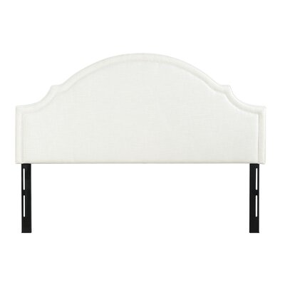 Calvert Upholstered Panel Headboard Upholstery: Off-White, Size: King